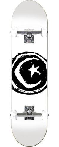 STAR & MOON WHITE (7.75 x 31.75)