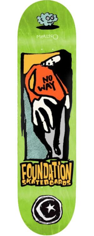 MERLINO NO WAY (8.25 x 31.9)