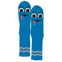 HAPPY TURTLE SOCK (BLUE)