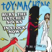 BURY THE HATCHET SOCK #02 (BLUE/BLACK)