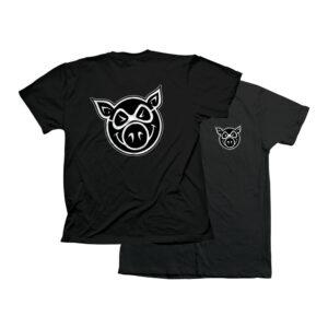 PIG HEAD TEE (BLACK)